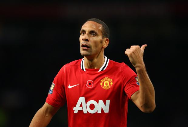 Rio Ferdinand suffered a back spasm in training last Thursday