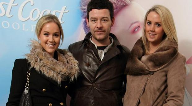 Lisa Harrison, Andrew Mulvenna & Hayley Harrison at the launch of Belfast fashionweek