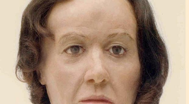 A 3D reconstruction was made of the head of the woman who became known as the Sutton Bank Body (North Yorkshire Police)