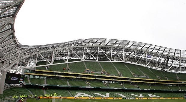 Aviva Stadium at Lansdowne Road