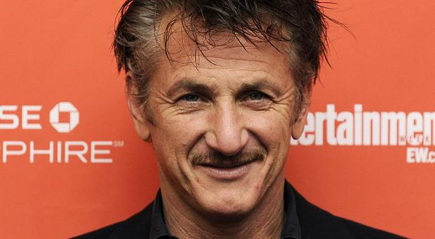 Sean Penn at the US premiere of This Must Be The Place at the Sundance Film Festival