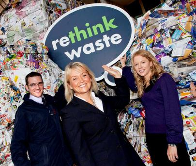 Danny Paton, DOE's Wendy Cooke and ARENA Network's Keelin Hamill are urging businesses to get involved in the 'Sustainability meets Efficiency' programme