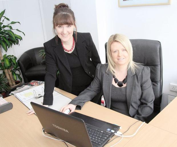 Tanya Mack, Partner (left) and trainee accountant Catriona Turley