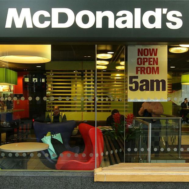 McDonald's expects around 30 per cent of the 2,500 jobs to be created in the UK this year to go to first-time workers