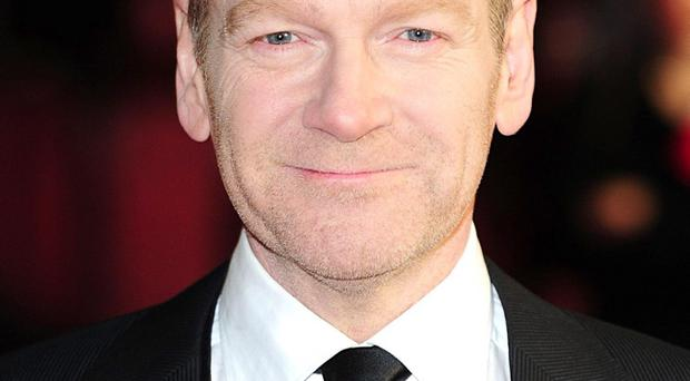 Kenneth Branagh, who has been nominated for best supporting actor at this years Oscars
