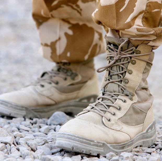 A British soldier has died in Afghanistan