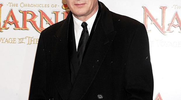 Liam Neeson took freezing cold showers to prepare for his latest role