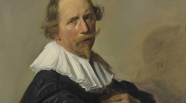 Portrait of a Man, the 1630s painting by Dutch master Frans Hals, has been sold at auction for £1.28 million(AP)