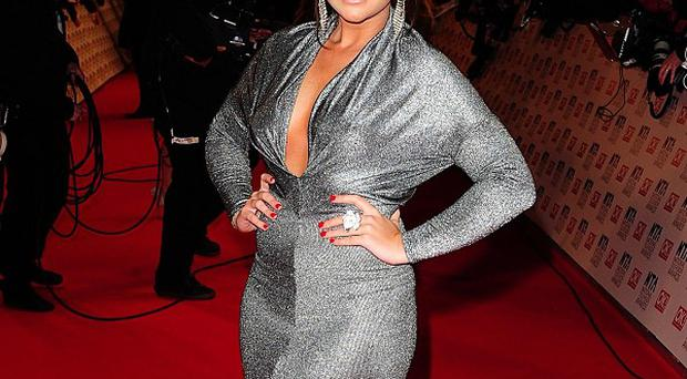 Lauren Goodger was one of the TOWIE stars bringing the bling to the red carpet