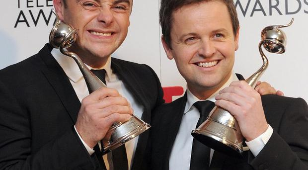 Ant and Dec were NTA winners once again