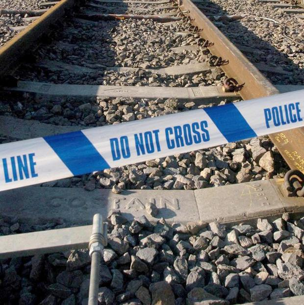 An 85-year-old driver had a lucky escape after she turned on to a high-speed railway track in Hampshire