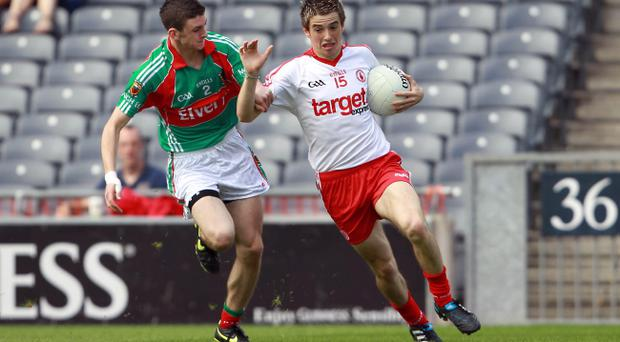 Ronan O'Neill (right) has been impressive for Tyrone