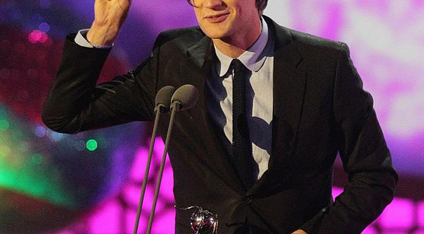 Matt Smith picks up the best actor National Television Award