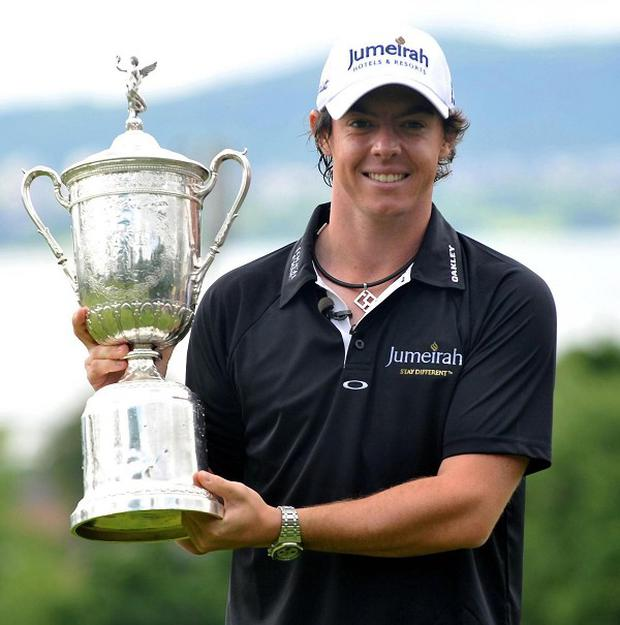 Rory McIlroy, seen holding the US Open trophy, is to get an honorary degree from the University of Ulster