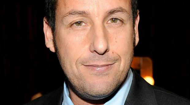 Actor Adam Sandler attends the 2012 People's Choice Awards