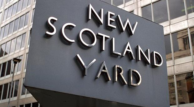 Scotland Yard said burglars entered the home of Edward and Anne Syrad in south east London on Wednesday night