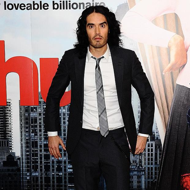 Russell Brand is being linked with a haunted house movie