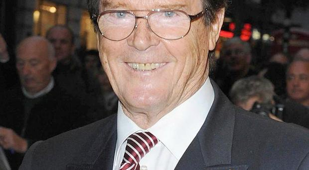 Sir Roger Moore famously played the lead role in The Saint in the 1960s