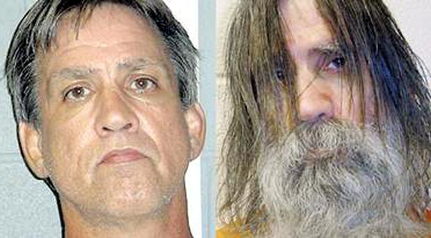 Stephen Slevin at the time of his arrest for drink driving in August 2005, left, and when he was released in May 2007, right