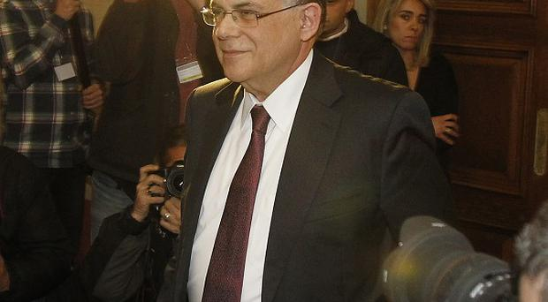 Greece's Prime Minister Lucas Papademos is seeking a debt relief agreement with private investors (AP)