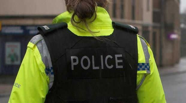 Police say a bomb found in a field in Kinawley, Co Fermanagh, could have been there for years