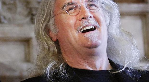 Billy Connolly has trumped Morecambe and Wise and Peter Cook to be named the UK's most influential stand-up comic of all time