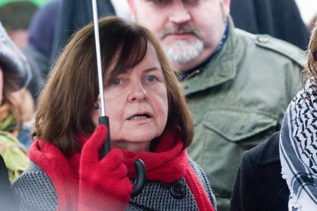 Bernadette McAliskey, who witnessed the events of Bloody Sunday, told the crowd that she was not confident of getting justice
