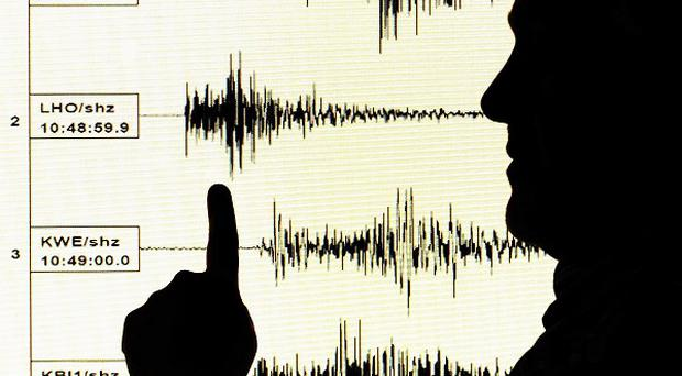 An earthquake has struck on the coast of central Peru