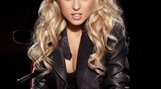 Jorgie Porter launched the search for the 2012 Bennetts Babes