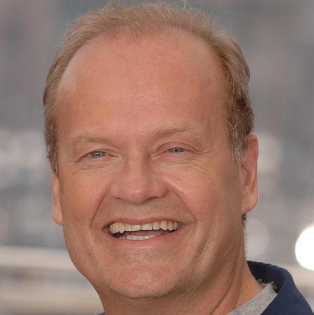 Kelsey Grammer isn't getting nervous about the twins' arrival