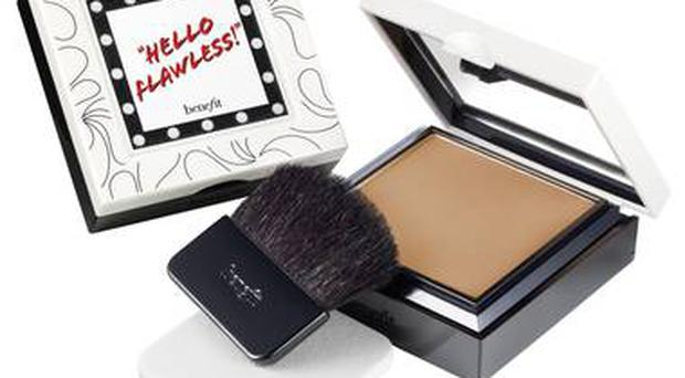 <b>1. Hello Flawless in Beige: £24.50, Benefit, benefitcosmetics.co.uk</b><br/> - Benefit's compact comes with a sponge for building heavier coverage, while using the brush will achieve a more sheer finish.