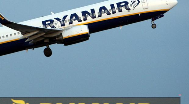 Ryanair said profits for the year to March 31 should hit 480 million euro