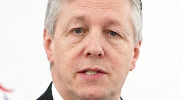 Peter Robinson's DUP has condemned the boundary commission's proposals to cut the number of Westminster seats to 16