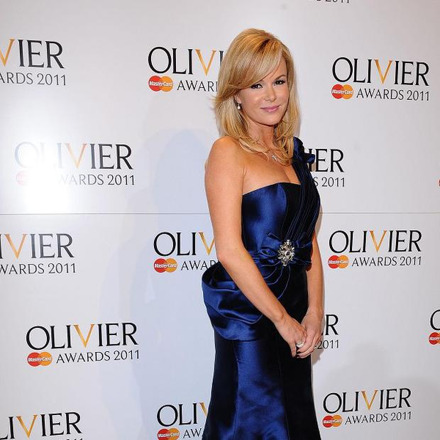 Amanda Holden has been discharged from hospital