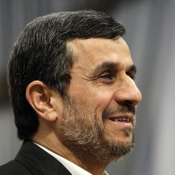 The government of Iranian president Mahmoud Ahmadinejad denies claims that it is working to develop nuclear weapons (AP)