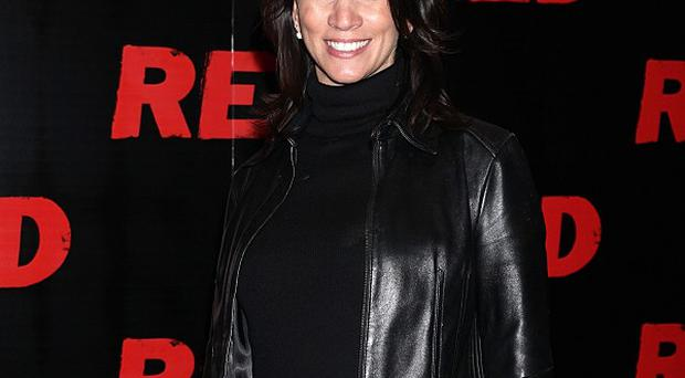 Andrea McLean has been promoting her new autobiography