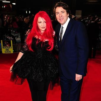 Jonathan Ross has joked that wife Jane Goldman wants him to be in one of her films