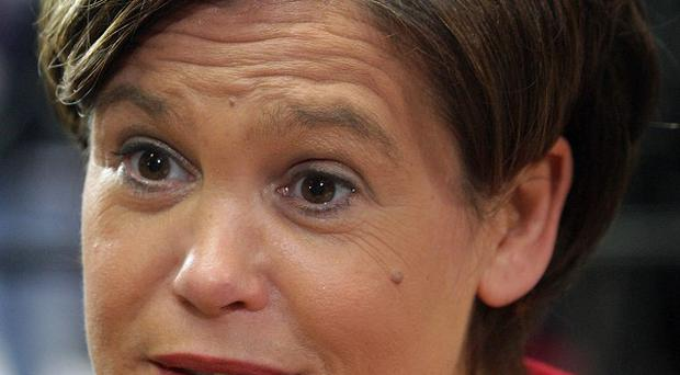 Mary Lou McDonald said Sinn Fein would take 'all measures necessary' to secure a referendum on a new EU treaty