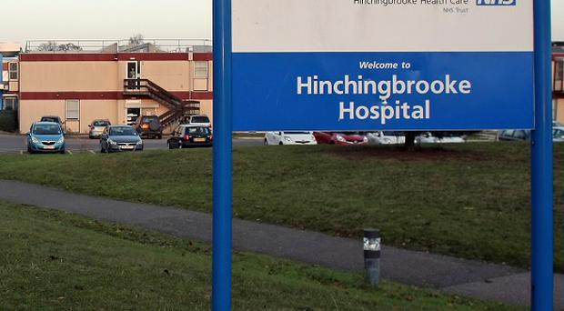 Hinchingbrooke Hospital in Huntingdon has debts of 39 million pounds
