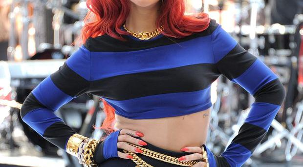 Colour code: Rihanna's locks would get her banned from the classroom