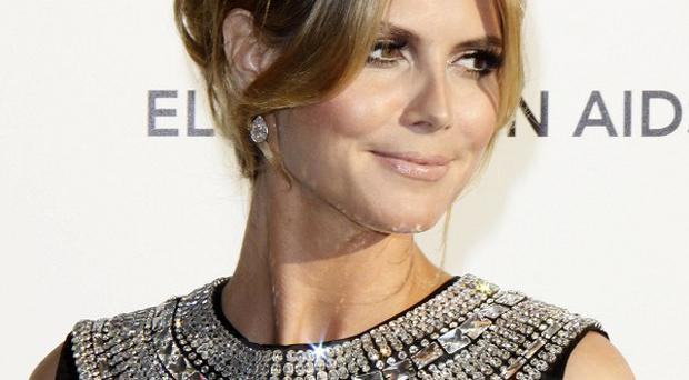 Heidi Klum has thanked fans for their support during her marriage split