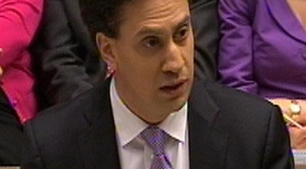 Labour party leader Ed Miliband has accused the Prime Minister of being 'part of the problem' over executive bonuses