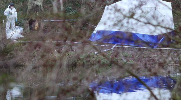 Two men were found dead in Reed Pond in Canterbury, Kent, with hours of each other on Monday
