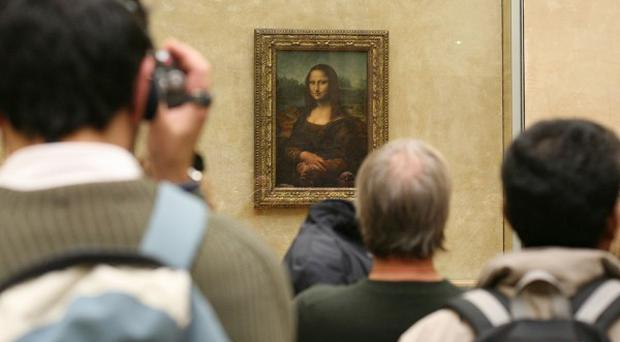 The original Mona Lisa in The Louvre in Paris, one of its earliest copies has now been found