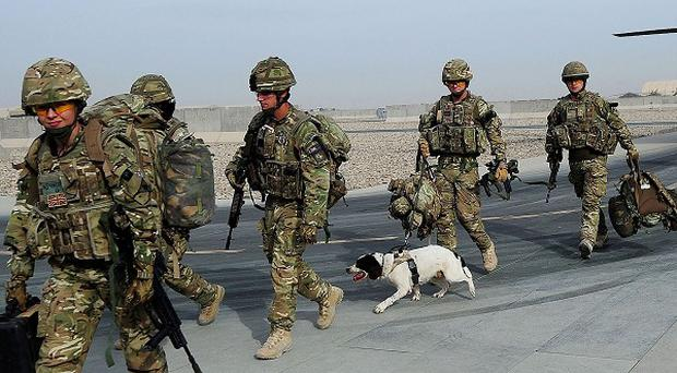 Downing Street has said British troops will step back from their lead combat role in Afghanistan by the end of 2013