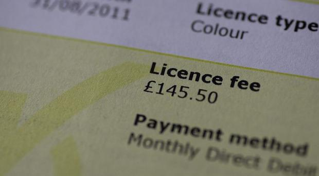 A total of 4,600 people in Belfast, 1,090 in Derry and 1,030 in Newry and Craigavon were caught without a TV licence last year