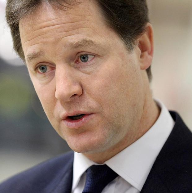 Moves by peers to vote down aspects of the Government's welfare reform show they are out of touch with voters, Nick Clegg said