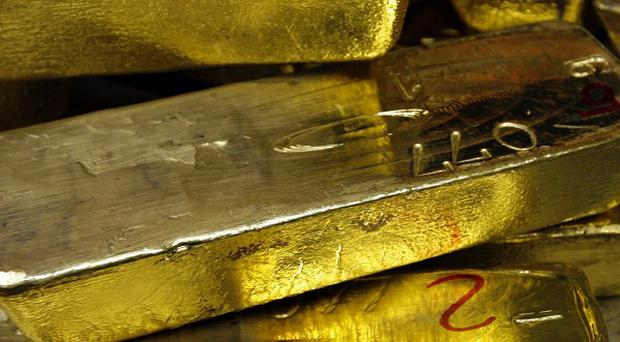 Chunks of gold have been stolen from a courthouse in a US town which had a gold rush in 1851