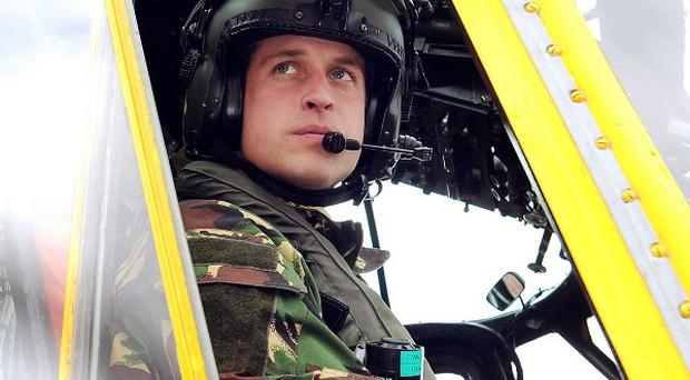 The Duke of Cambridge is in the Falklands for a six-month tour