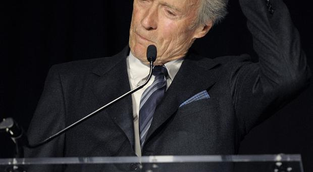 Actor and director Clint Eastwood was honoured at the Smithsonian